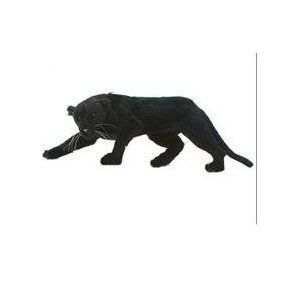 Hansa 22 Black Panther Plush Stuffed Animal Toy