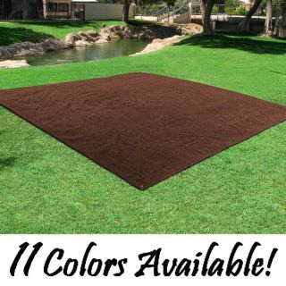 Outdoor Turf Rug 12x12 Deck Patio Area Carpet Mat