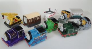 Thomas The Train 2011 THOMAS Harold Friends Mini Plastic Toy LOOSE