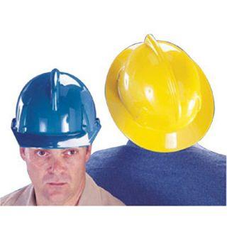 MSA Topgard White Plastic Hard Hat 475393