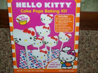 Hello Kitty Cake Pop Baking Kit Makes 20 Red Velvet Pops Party Dessert
