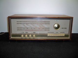 Vintage 1964 Erres Van der Heem Broadcast, Long Wave, Short W Radio