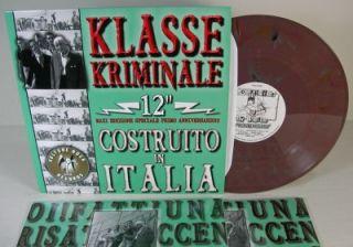 Klasse Kriminale Construito 12 Italy Skinhead SEALED Marble Wax Ska
