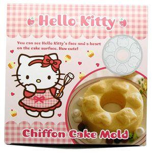 Hello Kitty Sanrio Chiffon Cake Mold Jello Party Supply