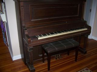 Hardman Upright Grand Piano