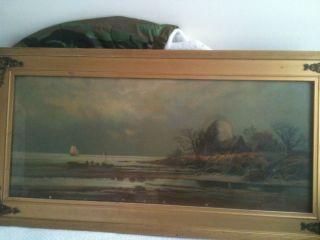 P R Koehler Landscape Painting