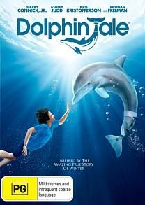 Dolphin Tale New SEALED R4 DVD Harry Connick Jr