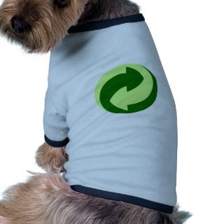Recycle and Ecology Products & Designs! Dog Tee