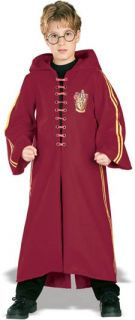 HARRY POTTER HALLOWEEN COSTUME KIT Robe Wand Glasses Child 5378