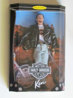 Harley Davidson Ken Barbie Doll 1 Collector Edition