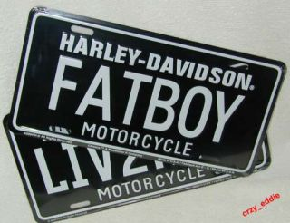 What can I say; this is a stamped metal Harley Davidson FATBOY