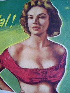 THE TALL LIE aka FOR MEN ONLY paul henreid kathleen hughes 1952