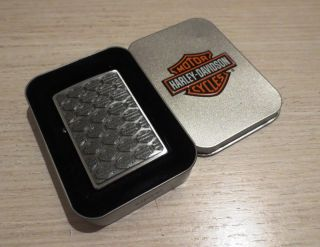 harley davidson advertising zippo lighter multi logo 200hd h280 98 an
