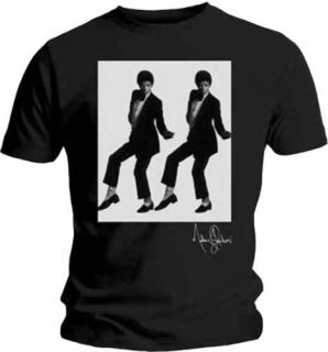 Michael Jackson Silver Glitter T Shirt New Medium