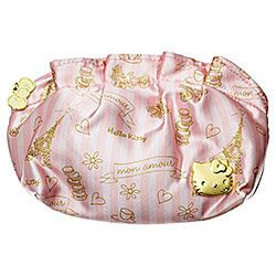 Bag Makeup Purse Mon Amour with Little Hello Kitty Charms