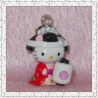 Lovely Mobile Phone Strap Charm Hello Kitty HK221