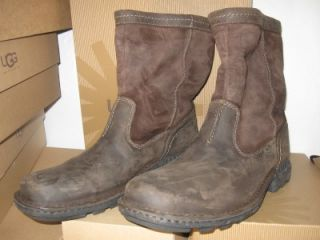 ugg hartsville boots seal brown men s uk 10 us sz 11