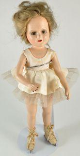 Original Ice Skater Sonja Henie Wendy Ann Madame Alexander Doll