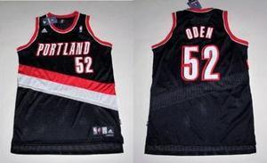 Swingman Portland Trail Blazers Greg Oden Blk Jersey M