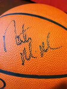Authentic Signed Autographed Portland Trail Blazers Team Basketball