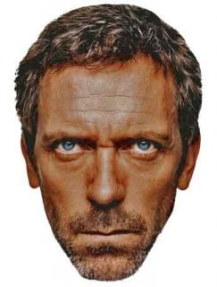 Dr Gregory HOUSE M D Hugh Laurie Big Head Window Cling Decal Sticker