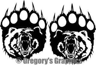 Bear Hunting Decal