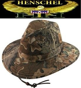 Henschel Lined Aussie Camo Breezer Hunting Fishing Hat