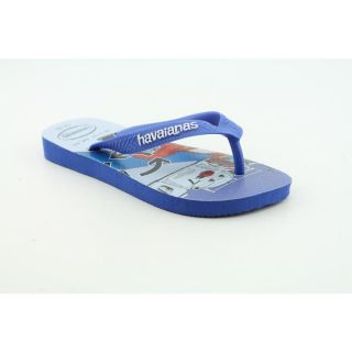 Havaianas Kids Cars Toddler Boys Size 1 Blue Synthetic Flip Flops