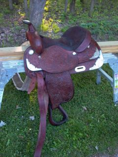 Hereford Tex Tan of Yoakum 15 Saddle