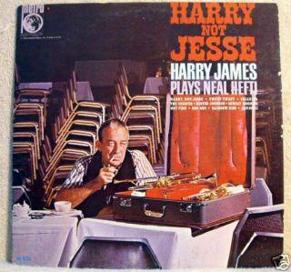 Harry not Jesse Harry James Plays Neal Hefti LP Nice