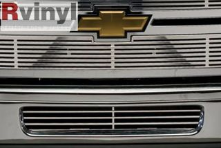 Putco Chevy Silverado HD 11 2013 Radiator Custom Grille Inserts w O
