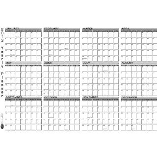 2013 Yearly Planner Large IN FULL VIEW Wall Calendar