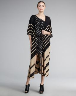 Haute Hippie Long Silk Cardigan