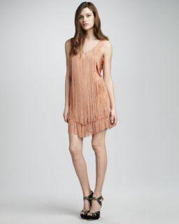 Haute Hippie Fringe Flapper Dress