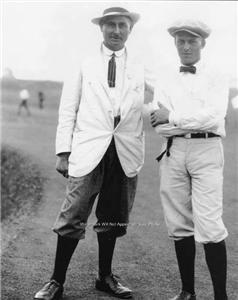 YOUNG BOBBY JONES HARRY VARDON U.S. OPEN GOLF 1920 PHOTO HALL OF FAME