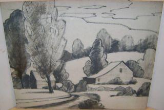 Original Herbert A Steinke Painting Listed Artist 1894
