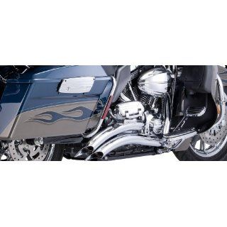 Vance & Hines Big Radius Chrome Exhaust Pipe System for Harley 2010