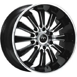 Motiv Maximus 22x9.5 Chrome Black Wheel / Rim 6x5.5 with a 35mm Offset