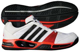 New Adidas CC Boom 2012 Mens Tennis Shoe White Black High Energy