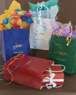 Personalized Gift Bags, Set of 12