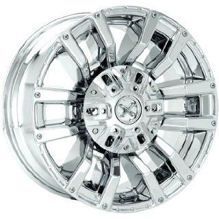 American Racing ATX Clash 22x11 Chrome Wheel / Rim 6x5.5 with a  25mm