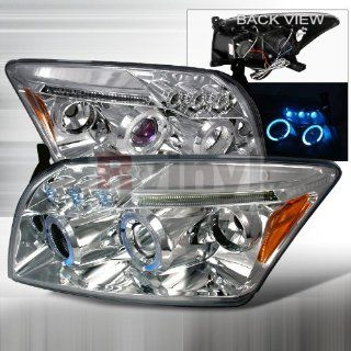 Dodge Caliber 2006 2007 2008 2009 2010 LED Halo Projector Headlights