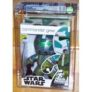 2008 Mighty Muggs Star Wars Commander Gree SDCC Exclusive