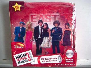 Disney High School Musical 3 CD Board Game Music CD