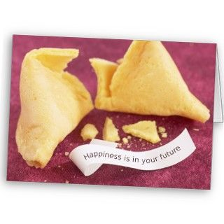 Happiness Fortune Cookie Card