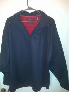 Roundtree and Yorke 2XL Navy Blue Jacket Coat Polo Shirt