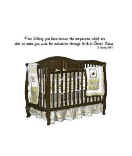 From Infancy You Have Known Vinyl Wall Decal Stickers Decor Letters
