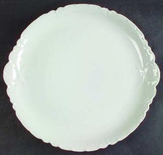 manufacturer haviland pattern ranson piece chop plate round platter