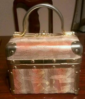 Borsa Bella ITALY Train Trunk Case style VINTAGE Italian BOX PURSE