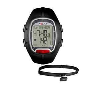 Polar RS100 Heart Rate Monitor Unisex Watch Black